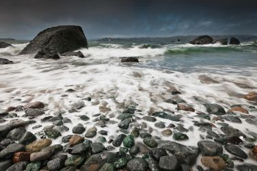 Mile Rock Beach by nathanspotts
