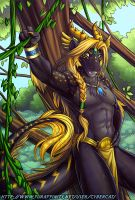 Forest Dragon by lady-cybercat