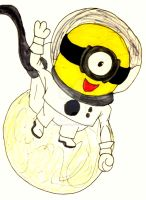 One Giant Step for MINION Kind. . . by InkArtWriter