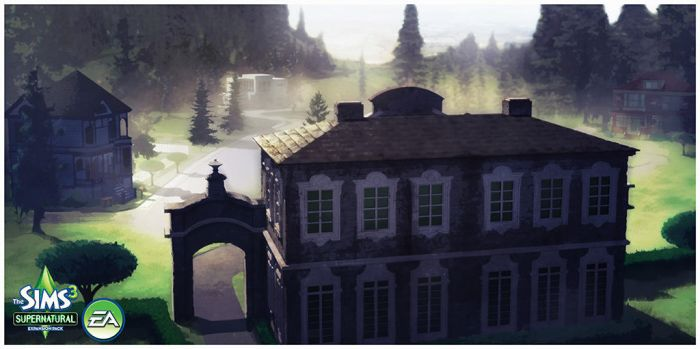 Sims 3: Supernatural Expansion- Neighborhood by TimothyAndersonArt