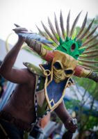 Witch Doctor Cosplay (male) up close and deadly by BrakeHeart