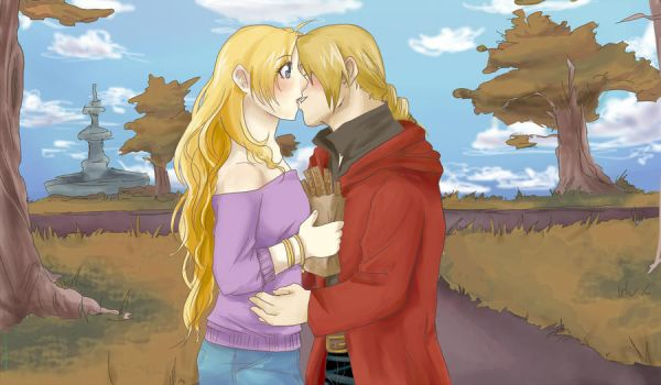 Contest entry.Ed and Jen by yoporock