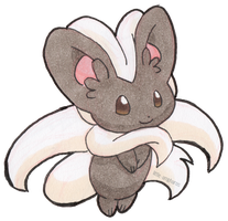 #573 Cinccino by little-ampharos