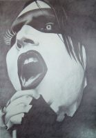 Marilyn Manson by tizwoz5