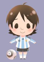 chibi messi by SERAPHLEI