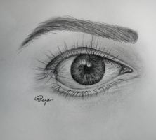 Eye by GRezaArch