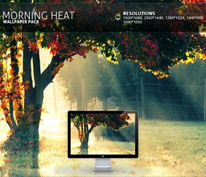 Morning Heat - Wallpaper Pack by PatrickRuegheimer