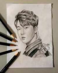 Worldwide Handsome by luffywow