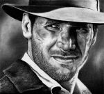 Indiana Jones - Harrison Ford by Doctor-Pencil