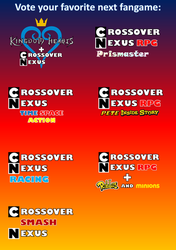Vote The Next Fangame Cover by coldeye125