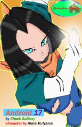 Android 17 Fan Pic by princetrunks415