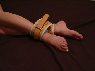 ankle straps by penney