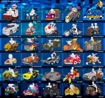 Playstation AllStars Racing by XAMOEL