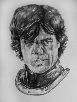 Ballpoint Pen/ Tyrion Lannister by salthepal