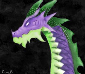 Spike (mlp) the big dragon by Shinyforest