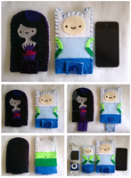 Adventure Time Itouch Phone by Brutemusandfriends