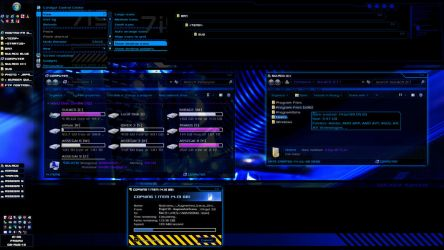 Sulaco Visual Style v0.15 blue (Windows 7 theme) by nostro-fr