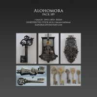 Pack189 Alohomora UNRESTRICTED by Elandria