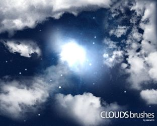 Clouds Brushes by rubina119