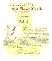 Legends of the Red Throat Spirit (Act I) by Ready2Create