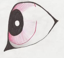 Rubinous eye practice by candy-coated-llamas