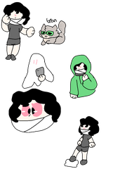 Ghast P Doodles by patchy-moon