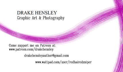 Drake Hensley Card by DrakeHensley