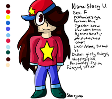 .:Persona Ref Sheet:. by SleepyStaceyArt