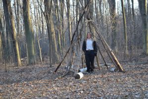 walking trail tipi by imaginaryfriend6