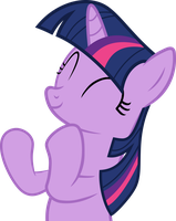 Twilight Sparkle Clapping (Vector) by Mio94