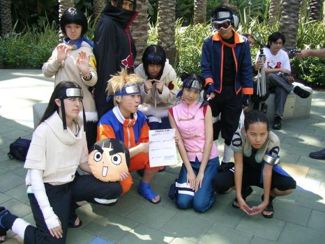 AX2005 Naruto Cosplay Group by chuwei