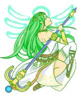 Lady Palutena by FaintSayu