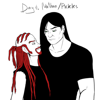 SHIPTEMBER 2017 Day 4 - Nathan/Pickles by RyuichirouAoino