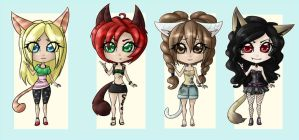 Summer Kitten Adoptable Auction - OPEN by sonisadopts