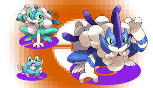 Froakie's Evolutions