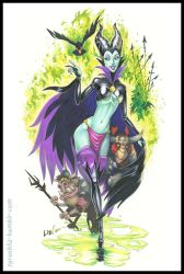 Maleficent the Goblin Queen by syrusbLiz