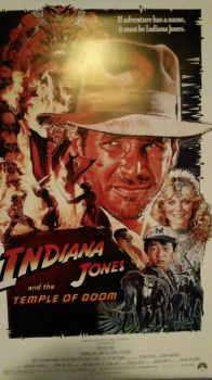 Indiana Jones and the temple of doom poster by TheCartoonWizard