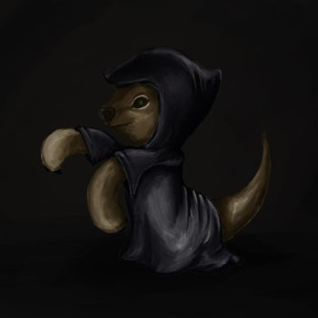 Otter Cultist by fullhex