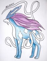 #245: Suicune by AlexRose312