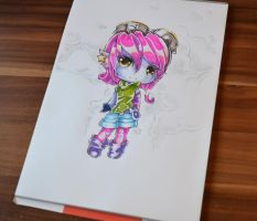 New Riot Girl Tristana Chibi by Lighane