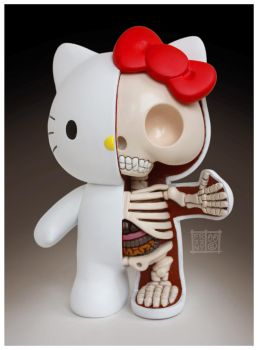 Hello Kitty Dissection 2.0 by freeny
