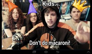 Kids, don't do macaroni.... by ClaraDerps
