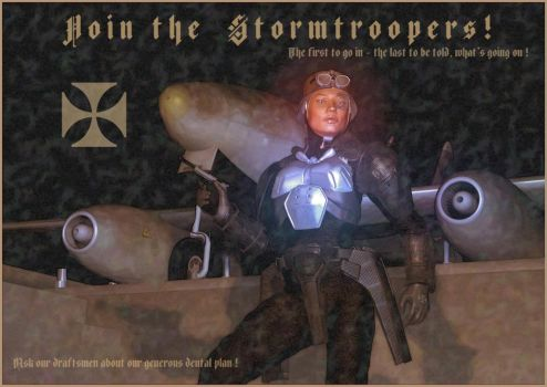 Join the Stormtroopers by donaguirre