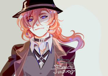 Bungou Stray Dogs Chuuya Nakahara by darkn2ght