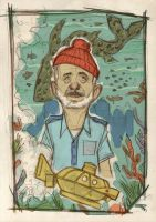 The Aquatic Life with Steve Zissou by DenisM79