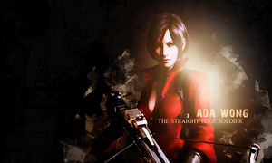 Ada Wong wallpaper andy by VickyxRedfield