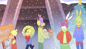 Holidays 2015 by Papercut-Cranes