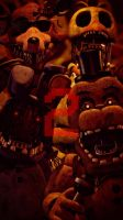 The 2nd [Anniversary Poster] (fnaf sfm) by JR2417