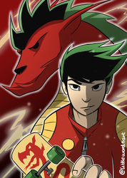 American Dragon Jake Long! by Littlewordsart
