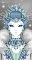 The Snow Queen by aqualin09